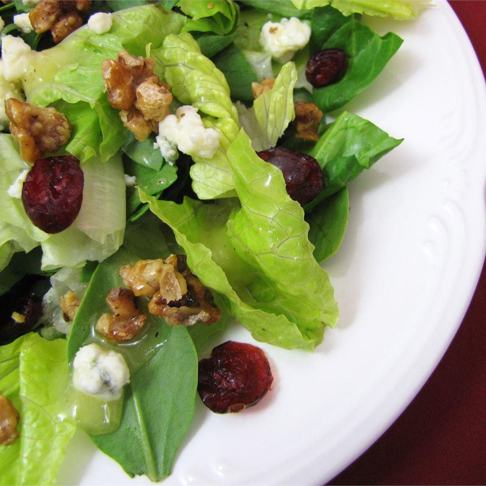 Missy's Candied Walnut Gorgonzola Salad