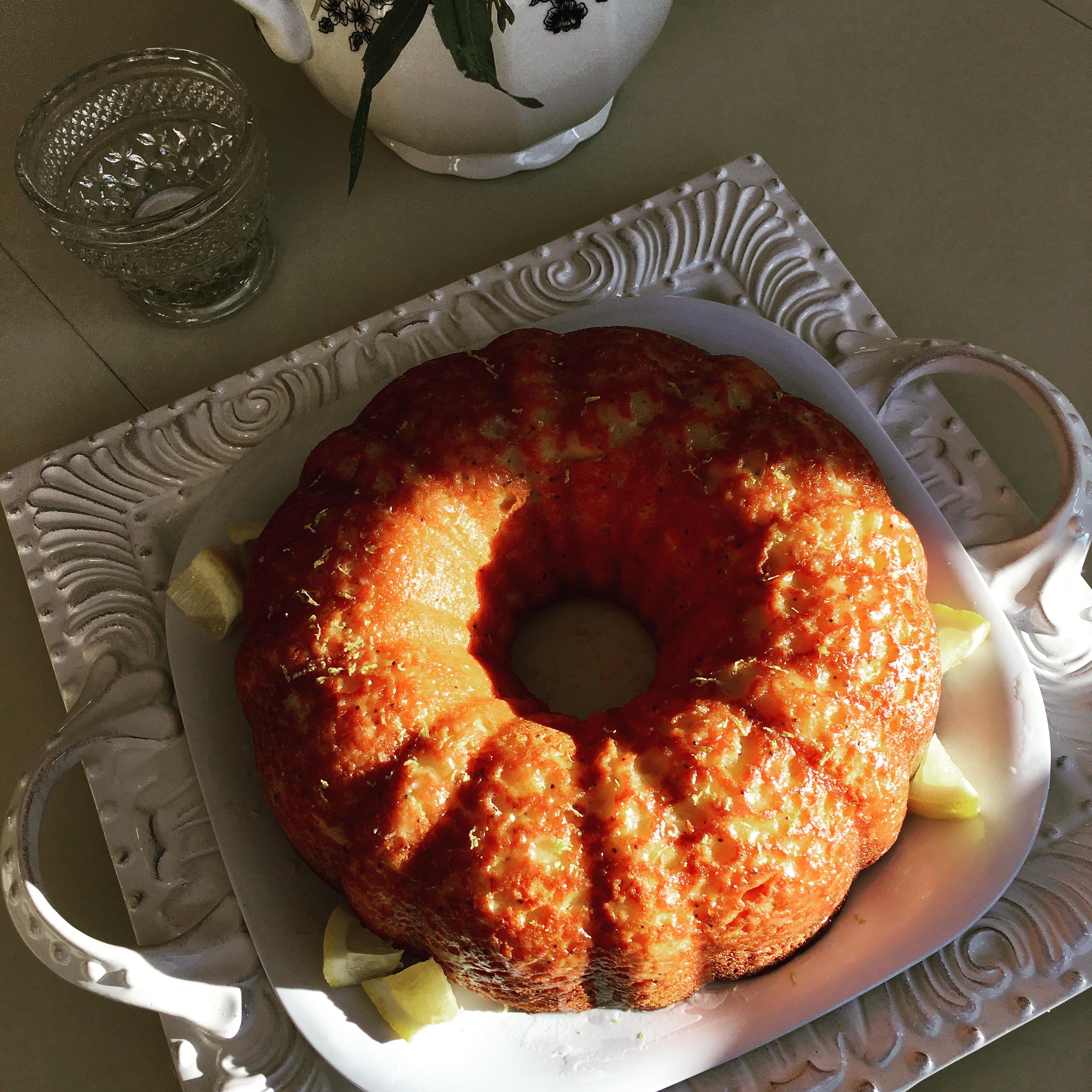Lemon Poppy Seed Bundt Cake leboulanger