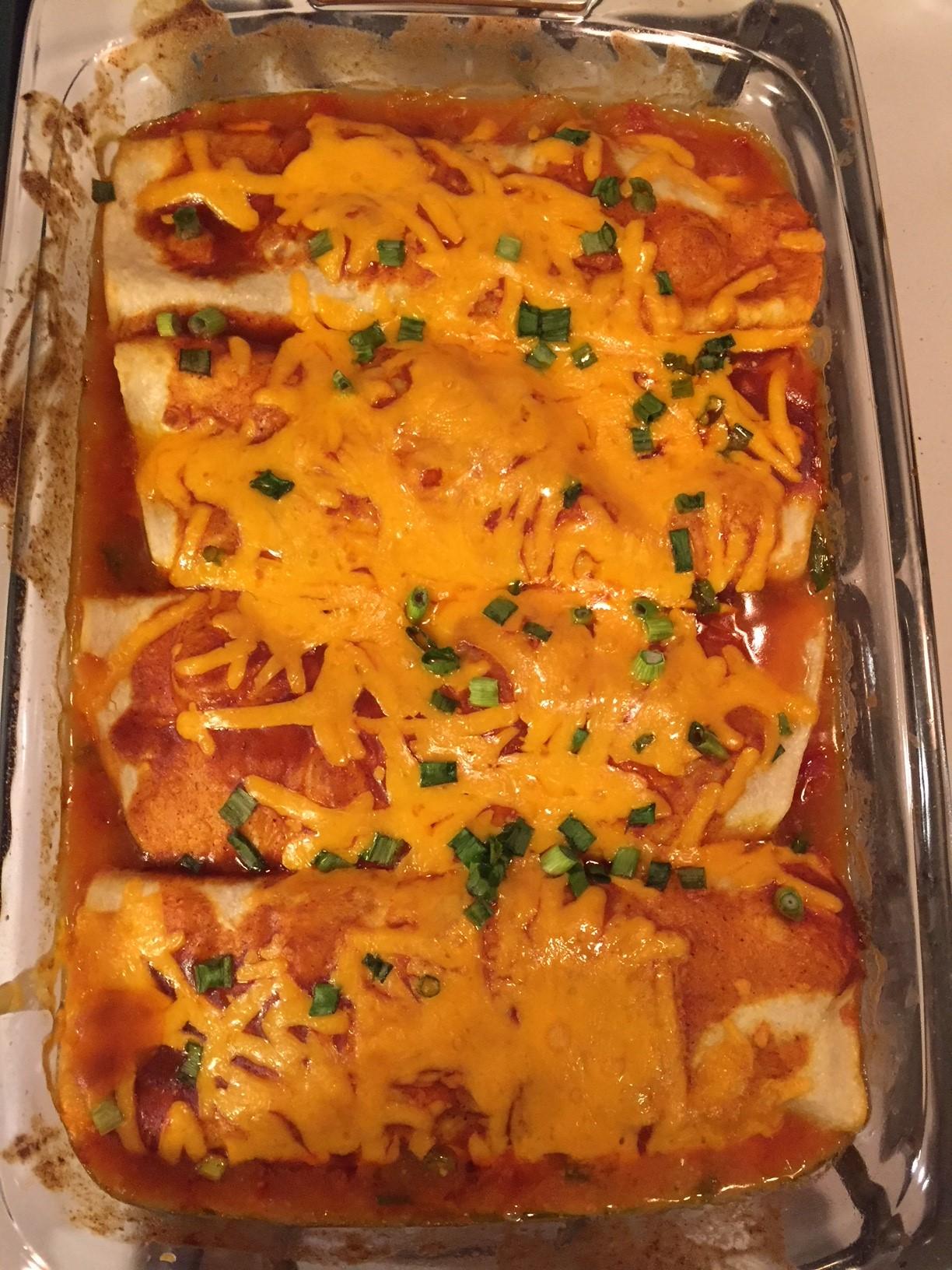 Gerry's Chicken Enchiladas