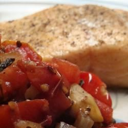 Fried Tomato, Onion, and Mushroom Ragout Gitano