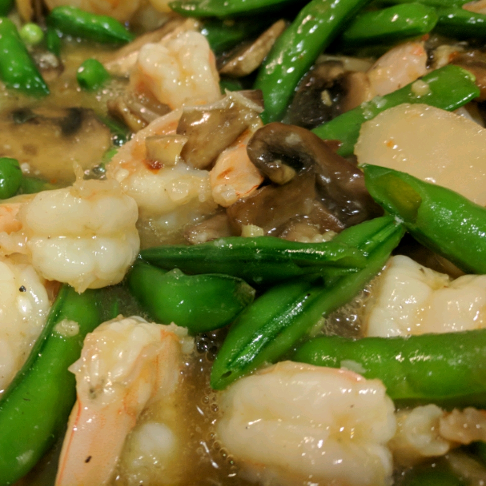 Chinese Take-Out Shrimp with Garlic Mary Zink