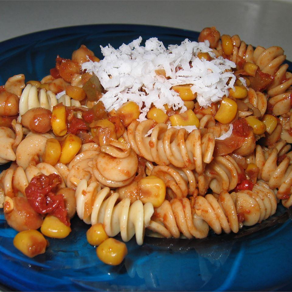 Southwestern Vegetarian Pasta joy-of-jesus-smileymom