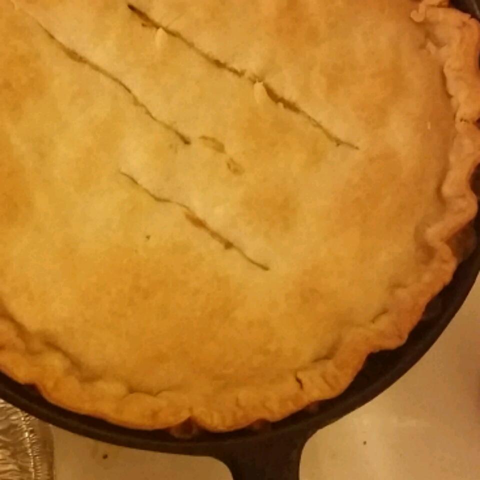 Grandma's Leftover Turkey Pot Pie Kellie Jones