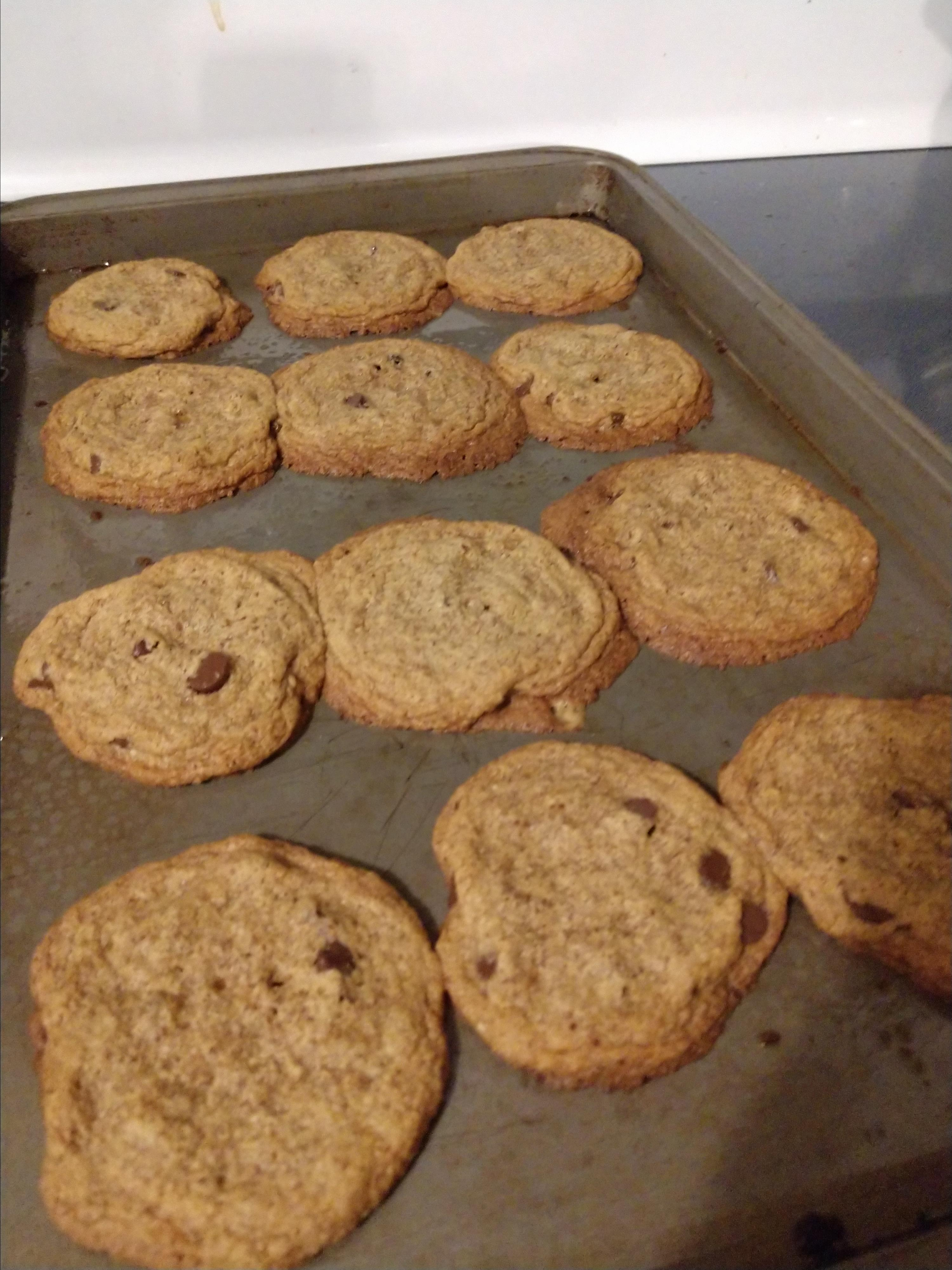 Paleo Skillet Chocolate Chip Cookie Kelly Michelle