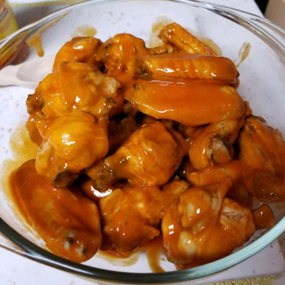 Baked Blazing Hot Wings