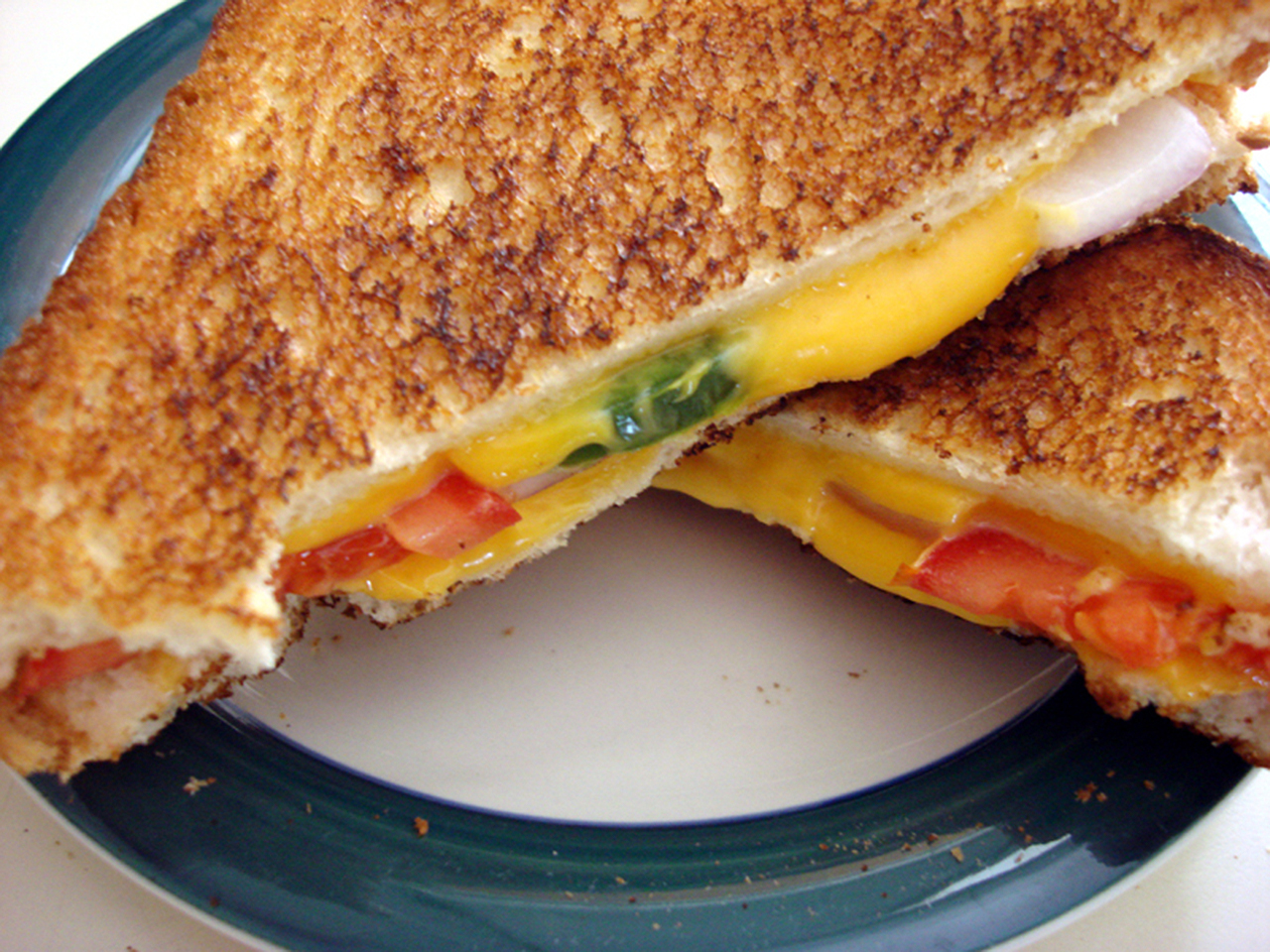 Spicy Grilled Cheese Sandwich PATELGURL