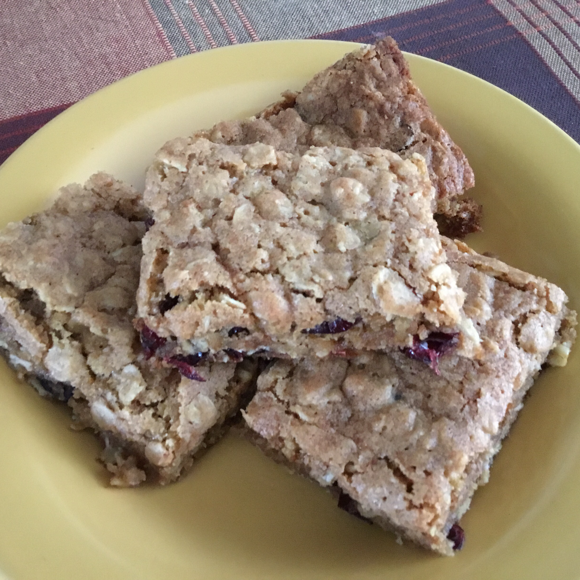 Milly's Oatmeal Brownies