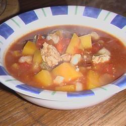 Butternut Squash and Turkey Chili ROSIESTOES
