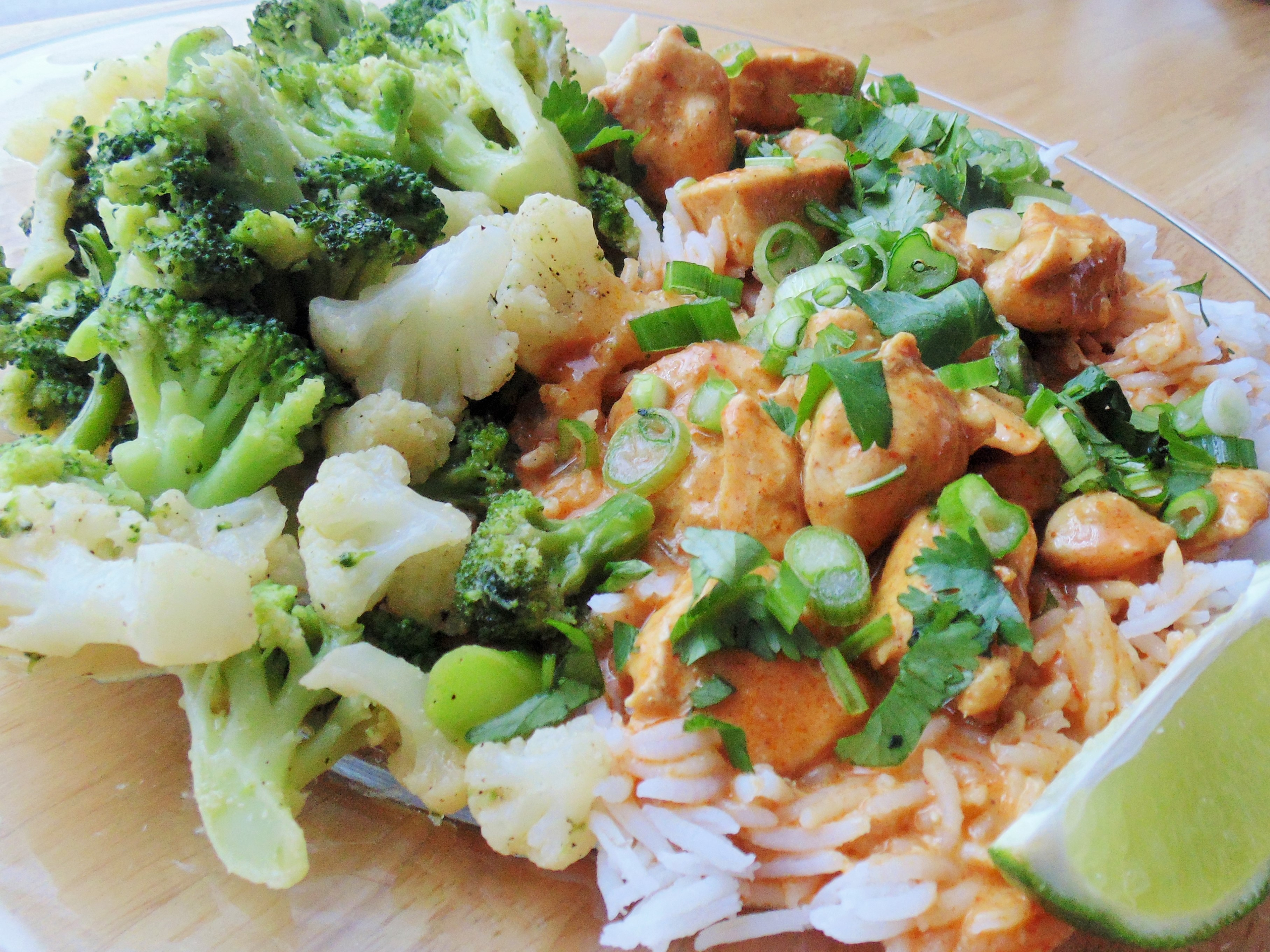 Five-Ingredient Red Curry Chicken Christina