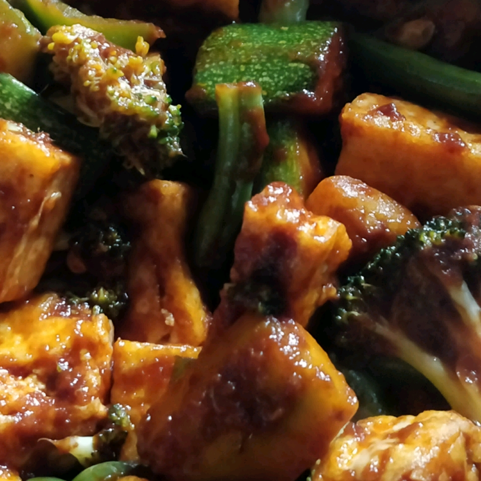 Lime-Curry Tofu Stir-Fry Madhusudhan H