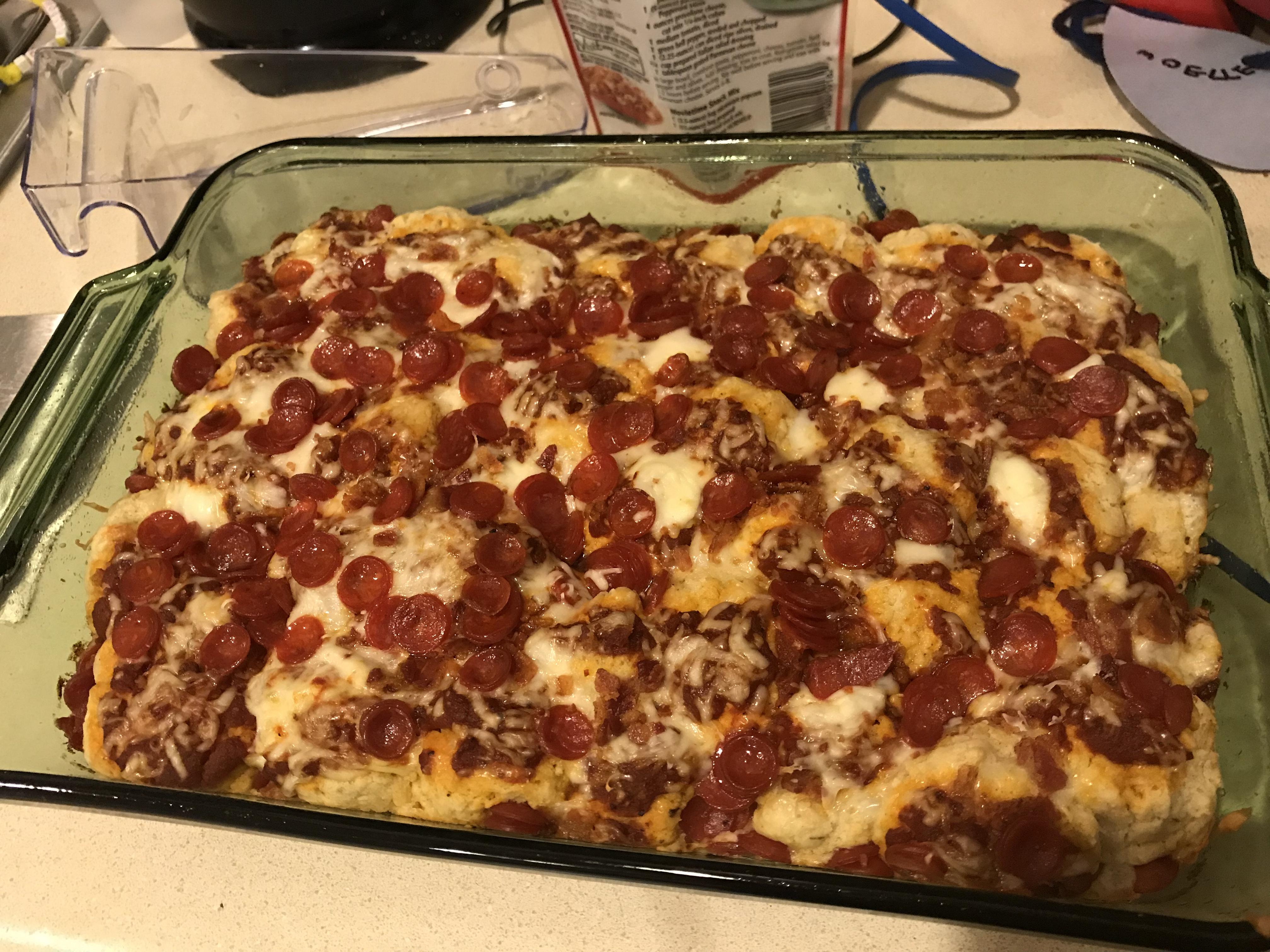 Impossibly Easy Pizza Bake Brandi Wilson