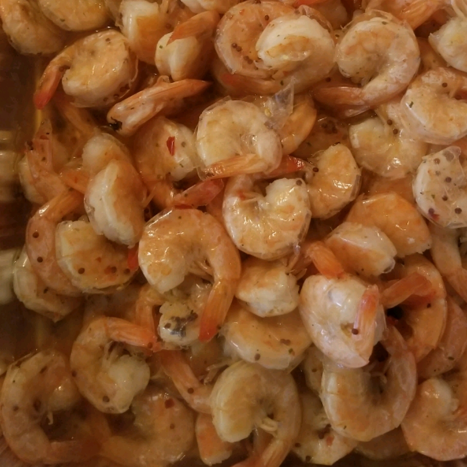 Texas Boiled Beer Shrimp Val Young