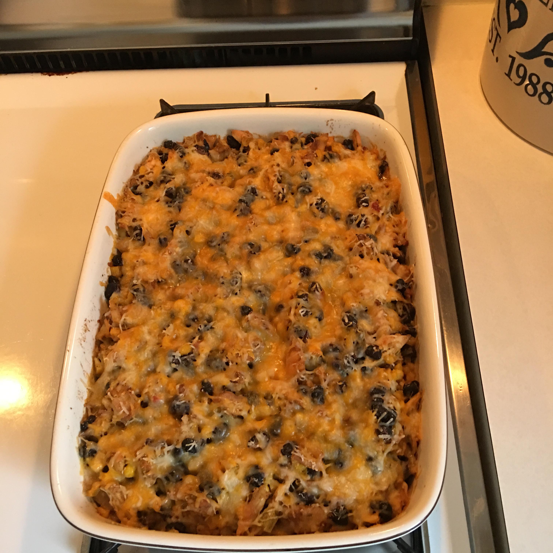 Chicken-Black Bean Casserole Margaret McBride Midgley