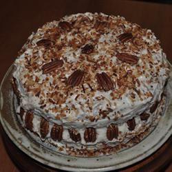 Coconut Pecan Cake Suz