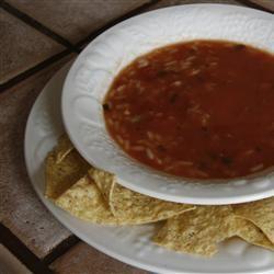 Easy Tortilla Soup scubadiva