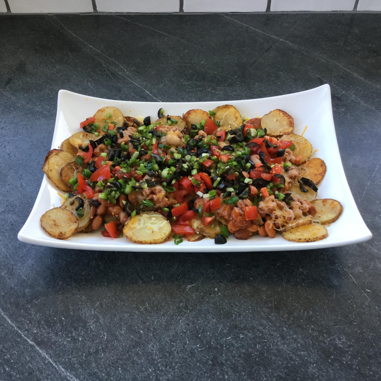 Quick Potato Nachos Sheree