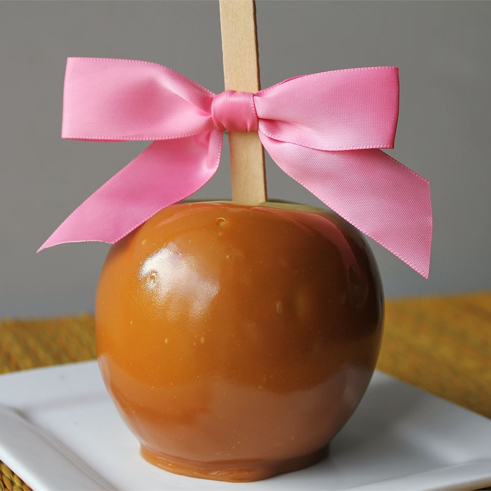 Plain Caramel Apples