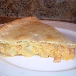 Cheese and Onion Pie Anonymous
