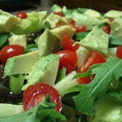 Avocado and Tomato Salad Gitano