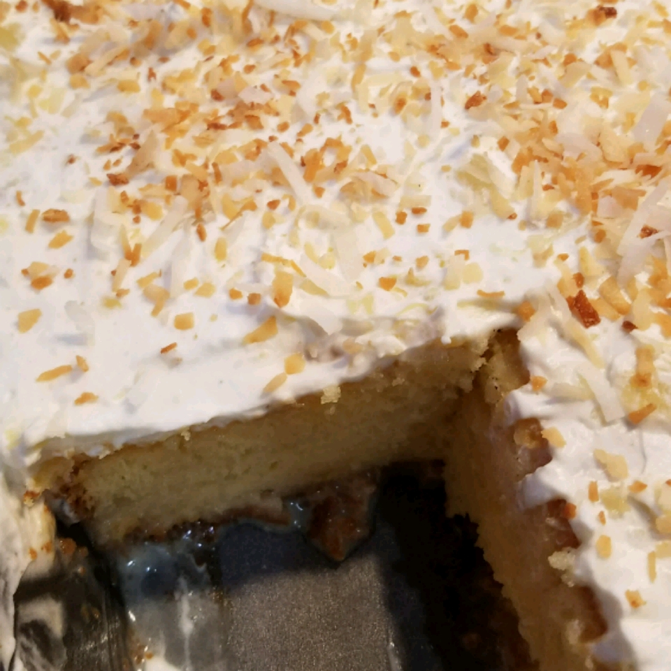 Tres Leches Pina Colada Cake Chris Vann