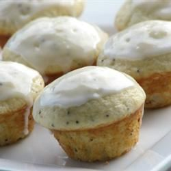 Poppy Seed Mini Muffins mominml