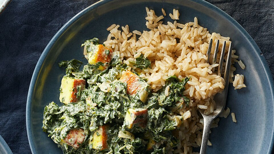 Easy Saag Paneer Recipe Eatingwell