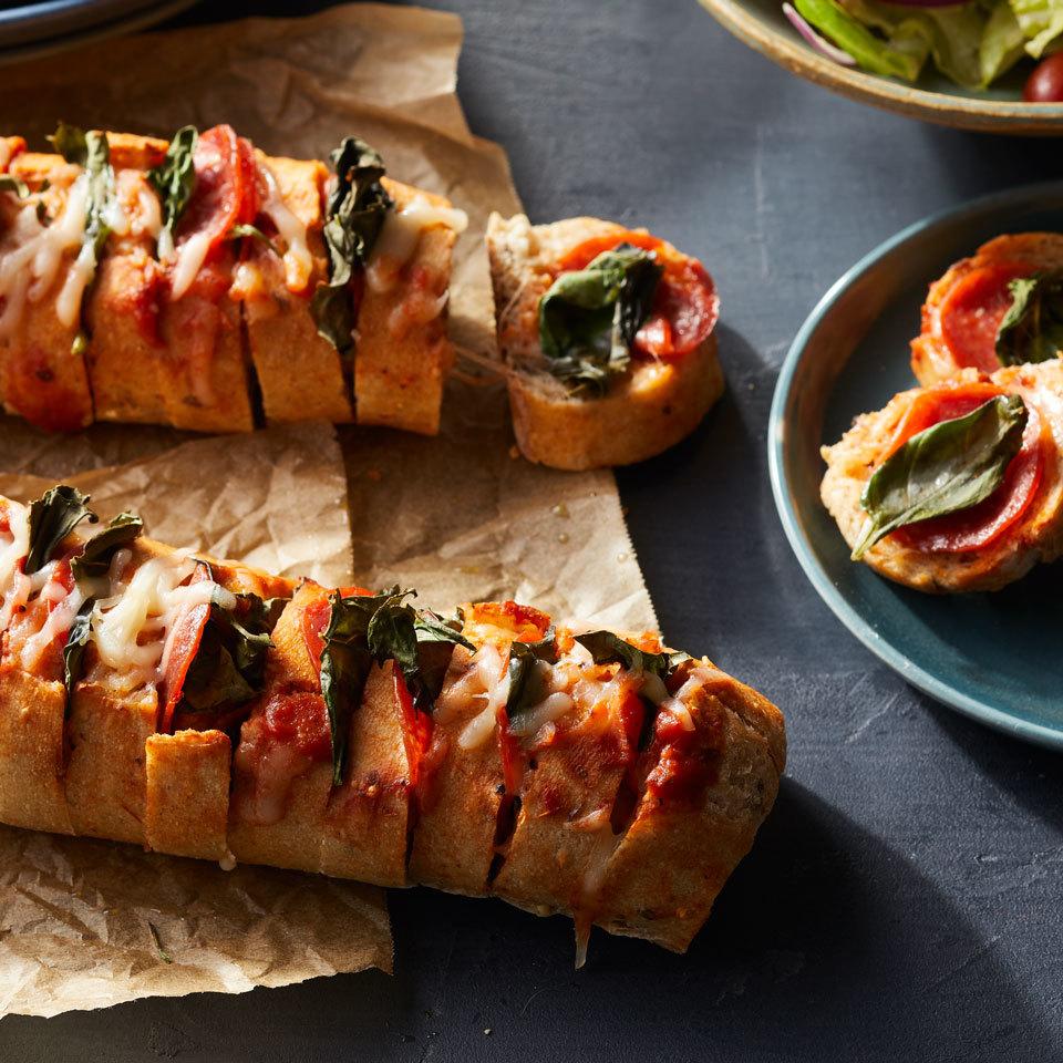Hasselback Pizza Bread Carolyn Casner