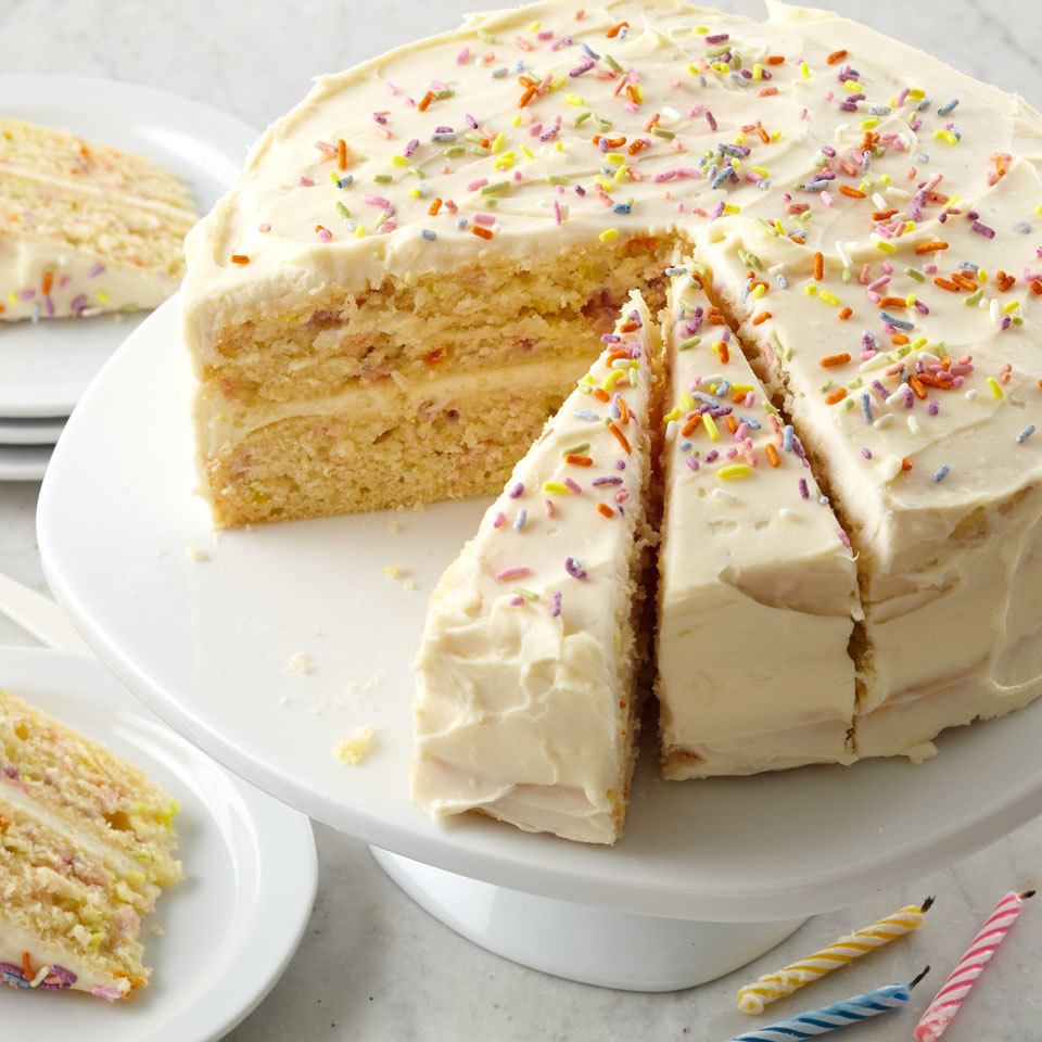 Confetti Birthday Cake Allrecipes Trusted Brands