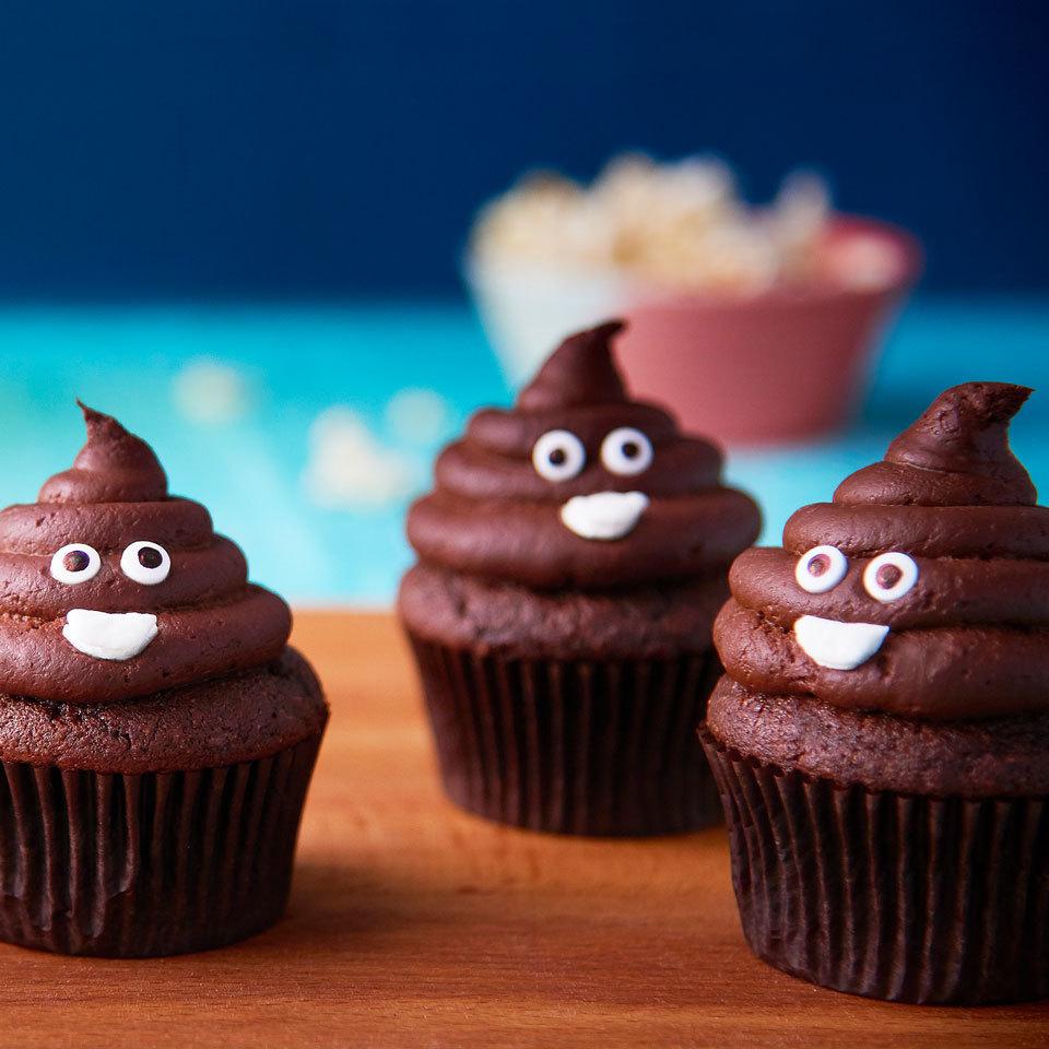 Poop Emoji Cupcakes Trusted Brands