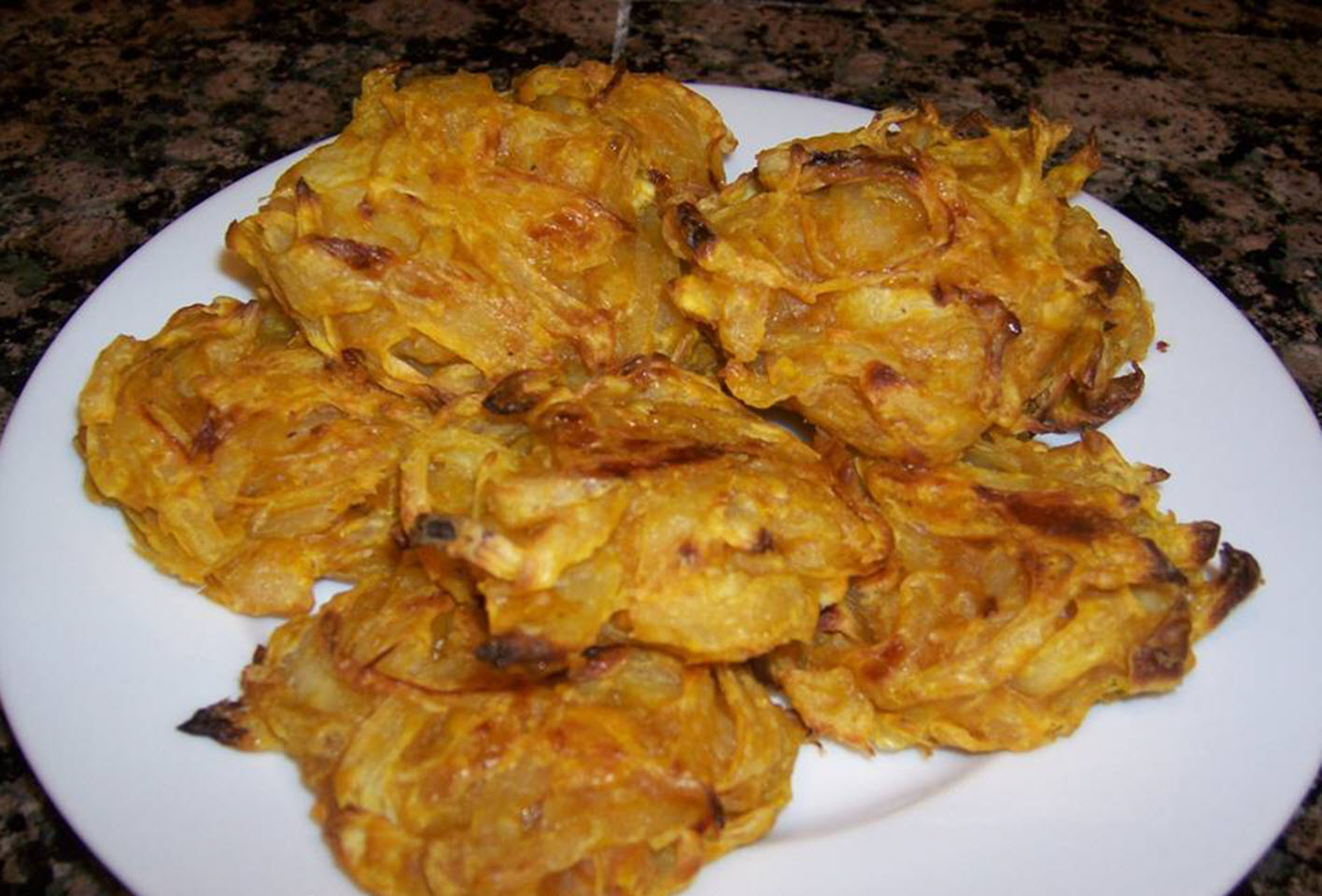 Baked Onion Bhajis AllrecipesPhoto