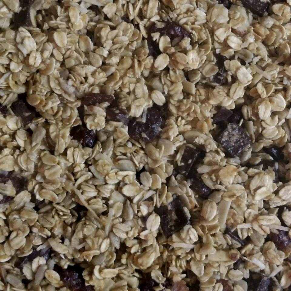 Sweet and Tart Vegan Granola Bar Rachel Kirby