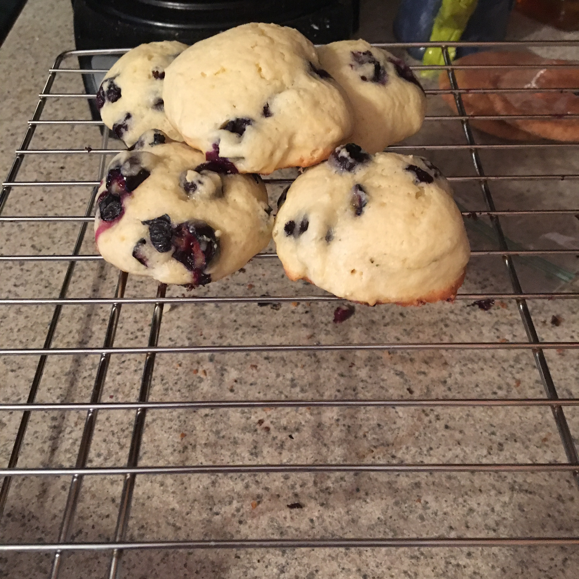 Blueberry Cookies mewers