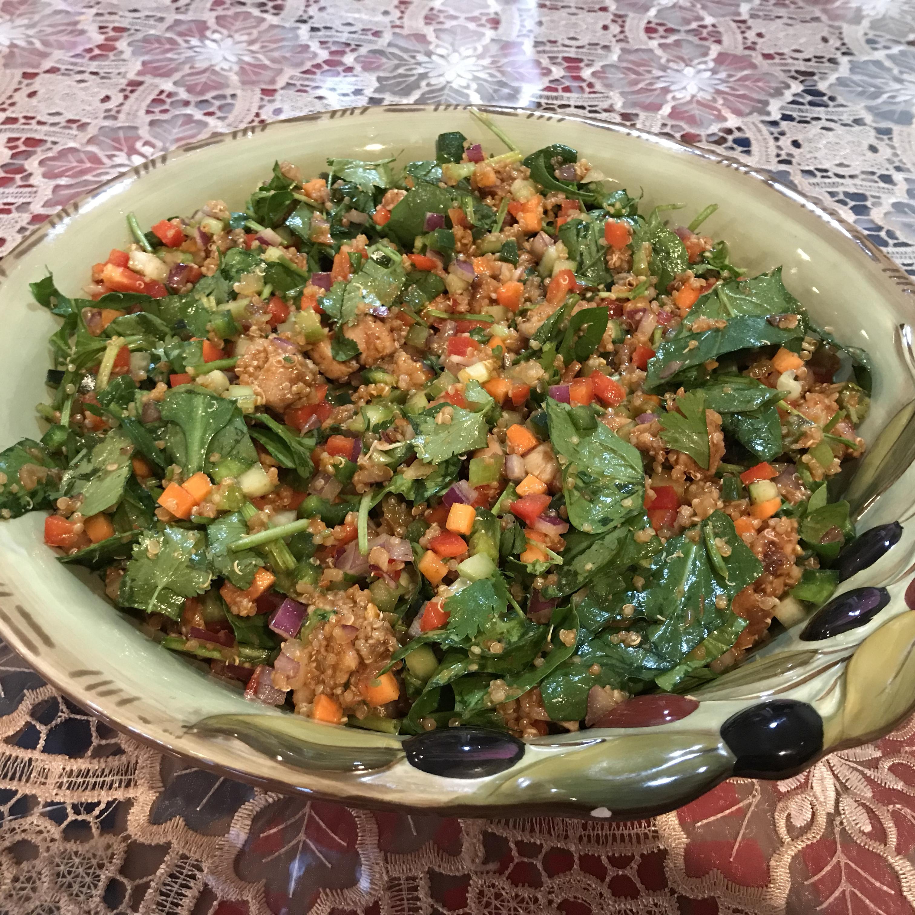 Mexican Chicken Quinoa Salad