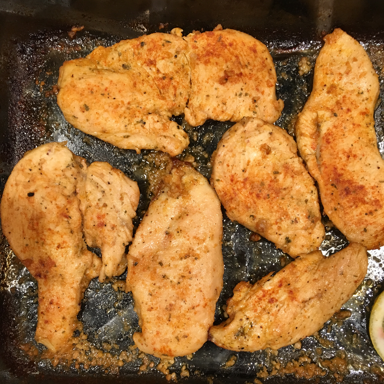 Easy Baked Lemon Chicken