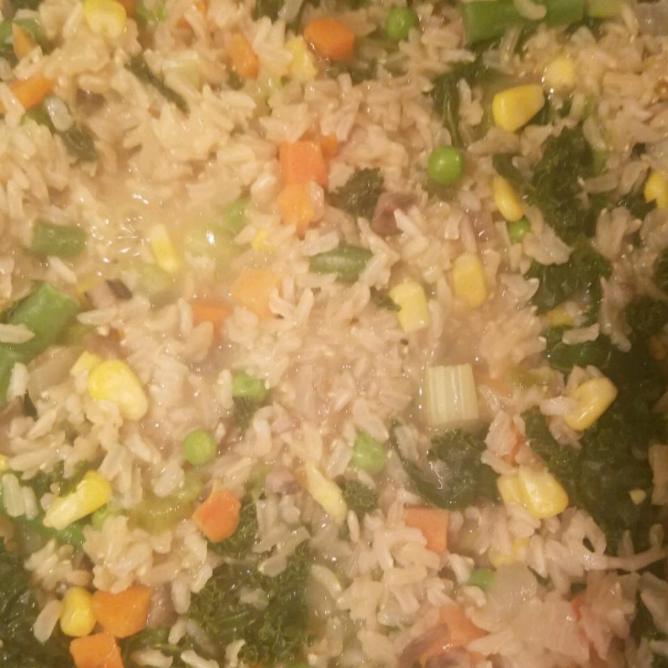 Brown Rice and Kale Salad Ty Jackson
