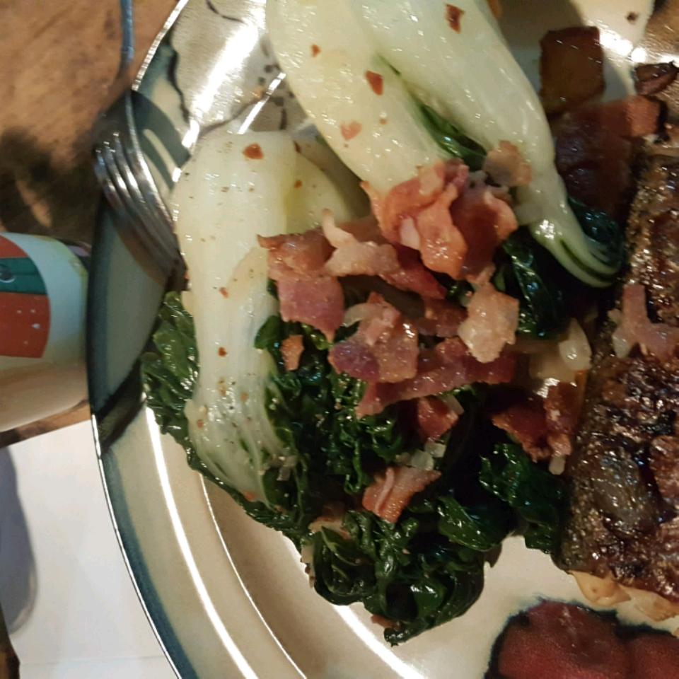 Bacon-y Bok Choy Colleen Seal