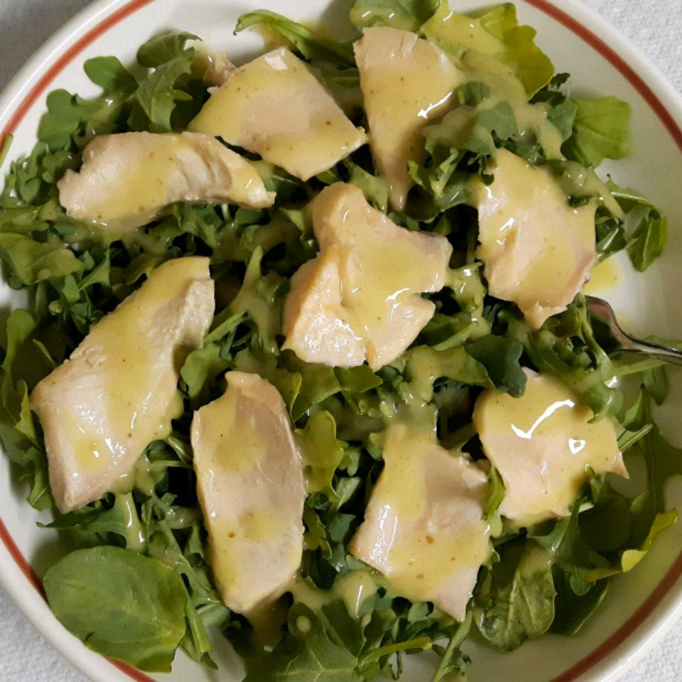 Hot Salmon Salad with Maille® Honey Dijon Mustard Nancy G