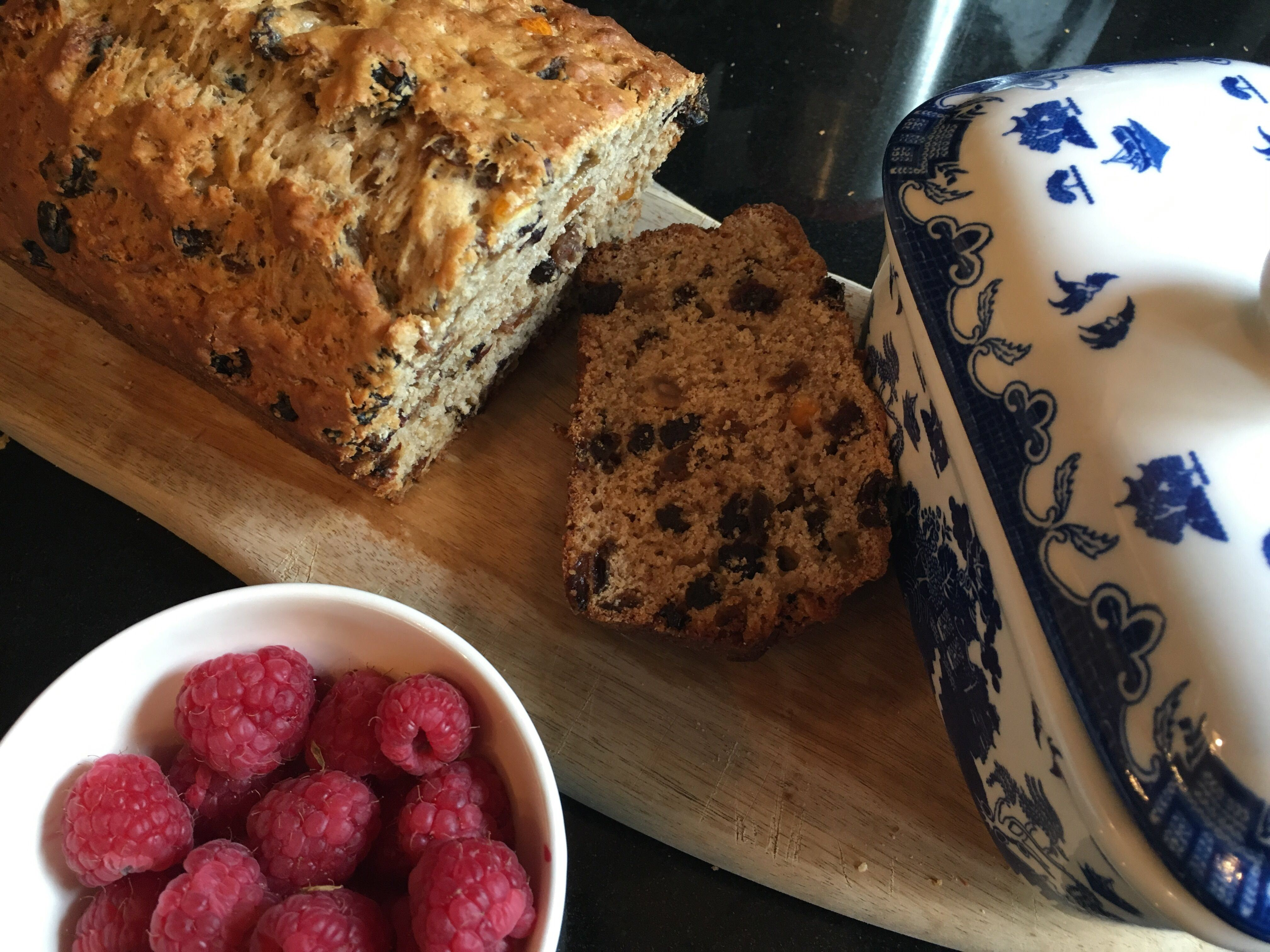 Almost Fat-Free British Tea Loaf