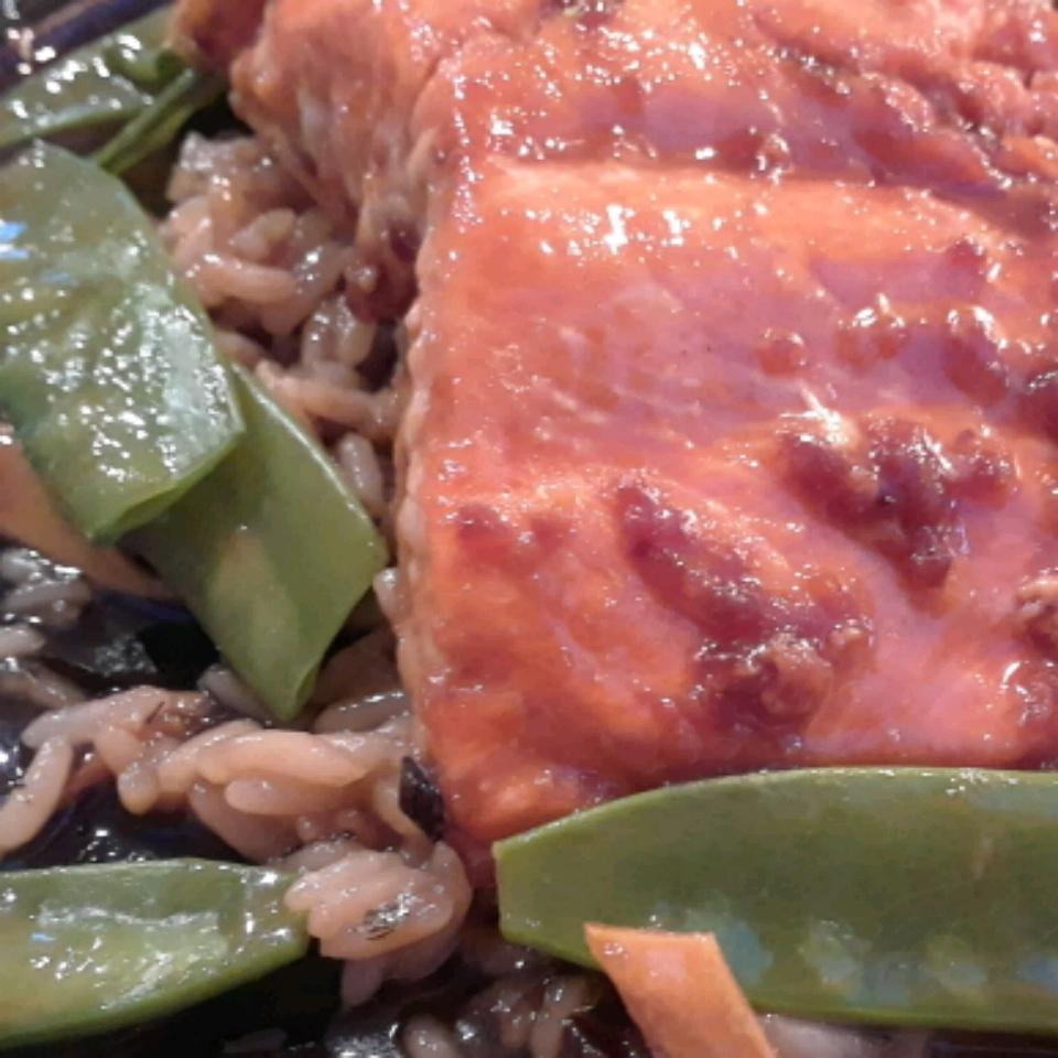Miso Salmon with Sake Butter Chickadee