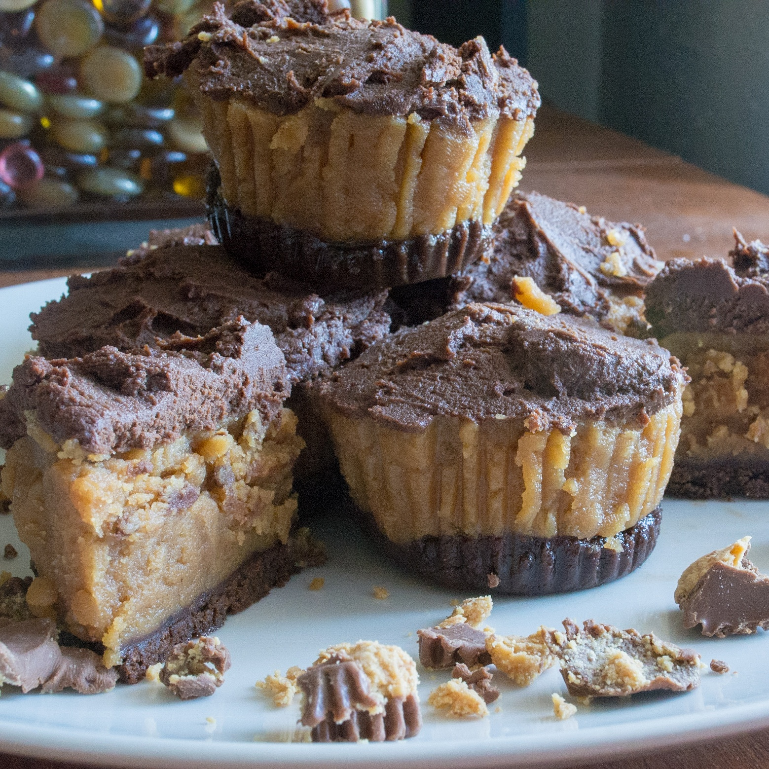 Peanut Butter Cheesecake Cups