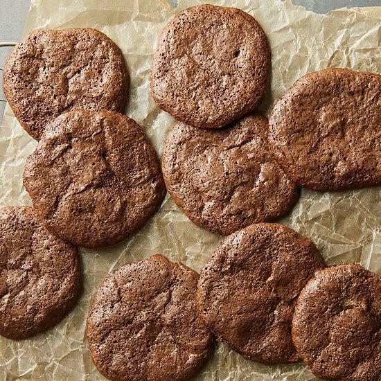 Flourless Chocolate Cookies Hilary Meyer