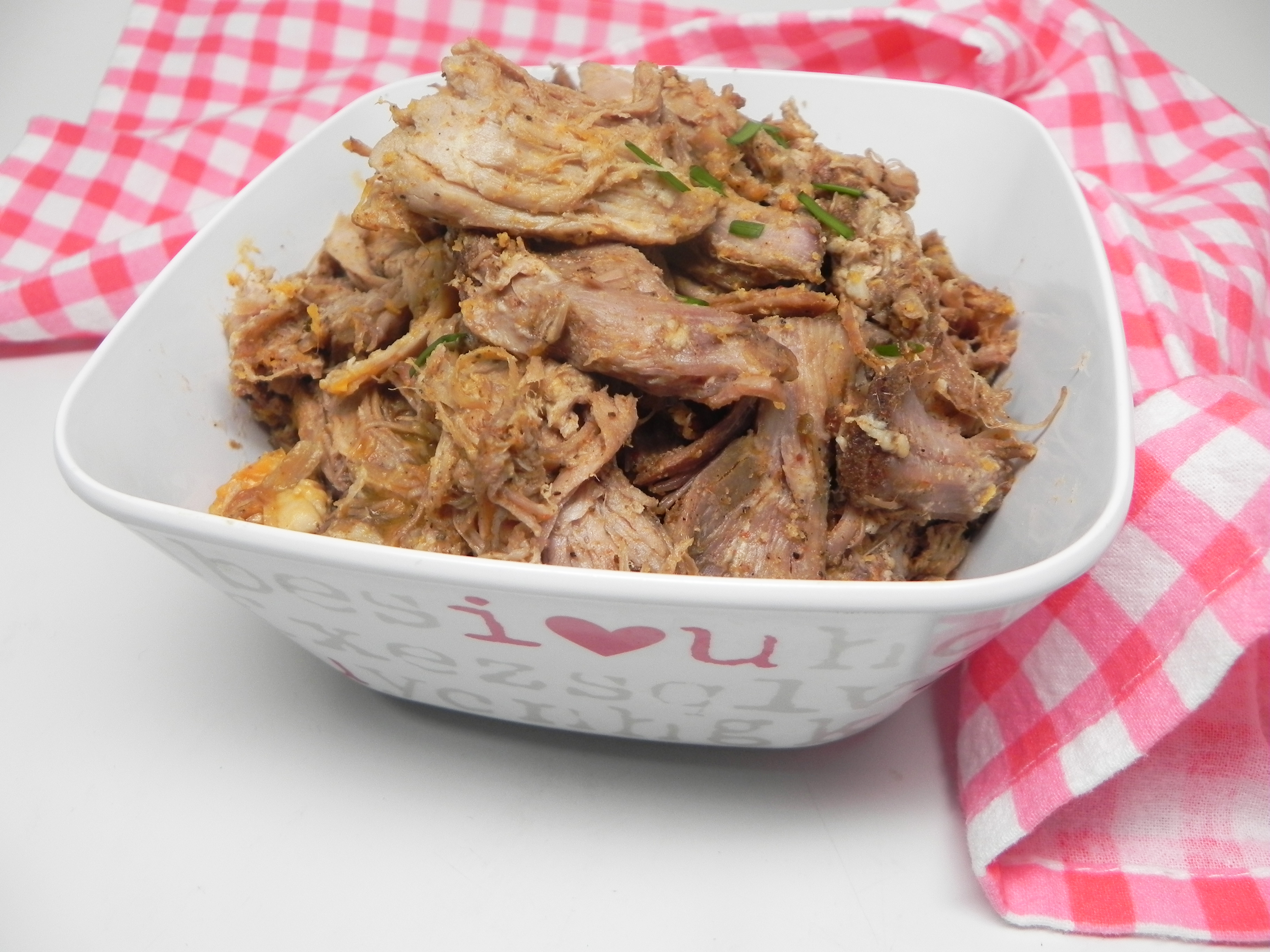Faux Smoked Pulled Pork (Carnitas) thebioteacher