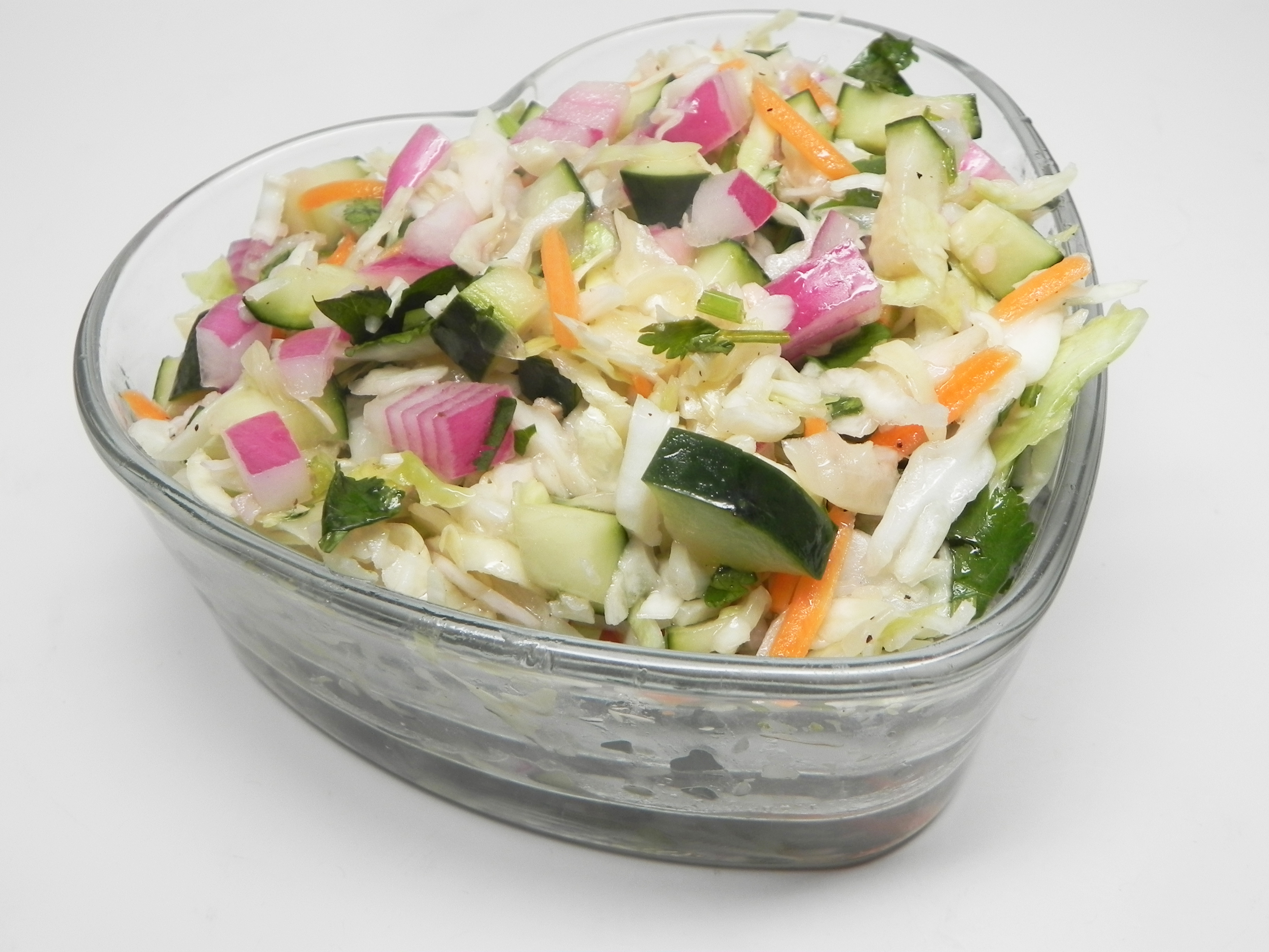 Tangy Cucumber Slaw for Tacos