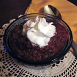 Traditional Indiana Persimmon Pudding