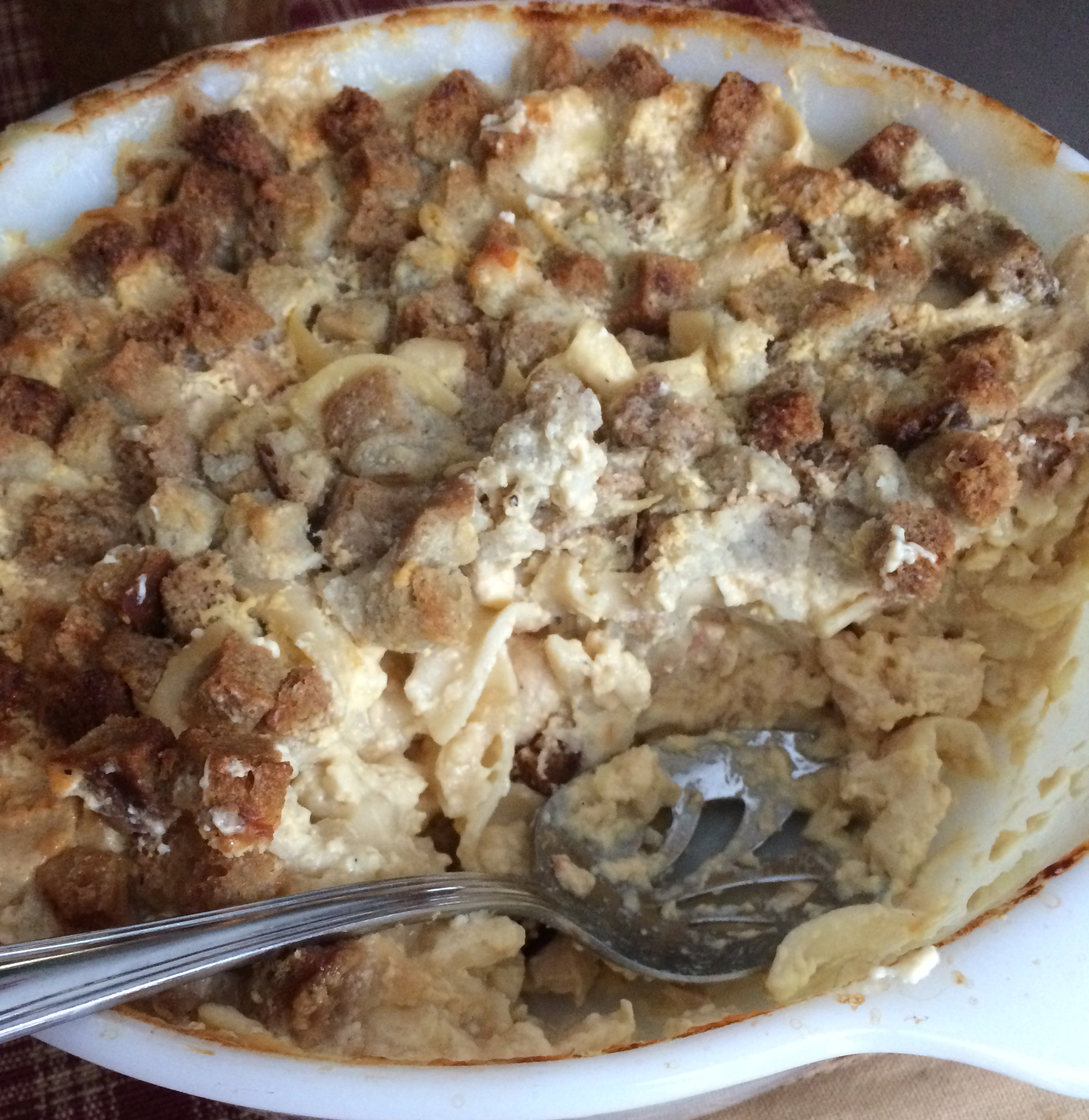 Quick and Easy Chicken and Stuffing Casserole De