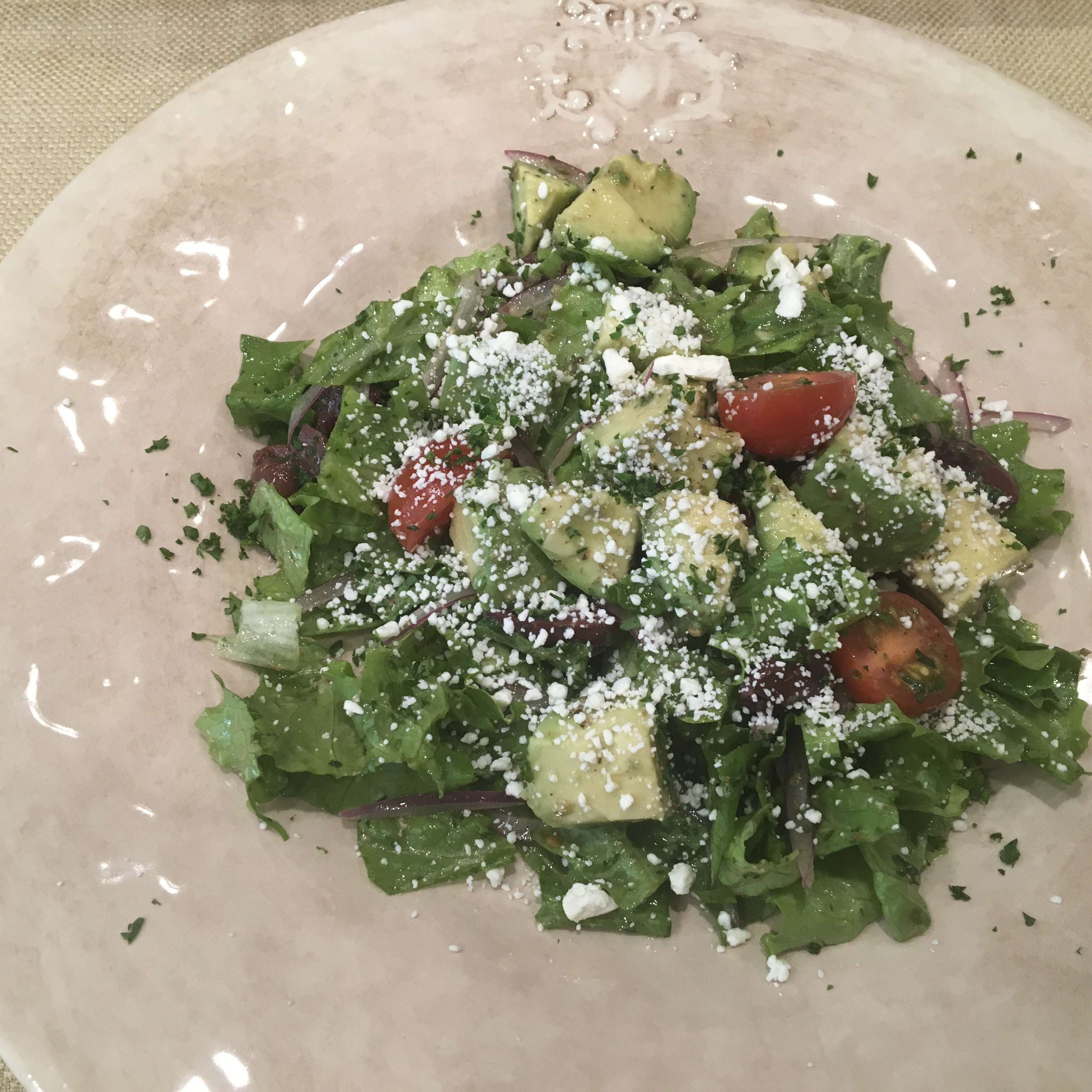 Greek Salad by Avocados From Mexico Marcela Valle