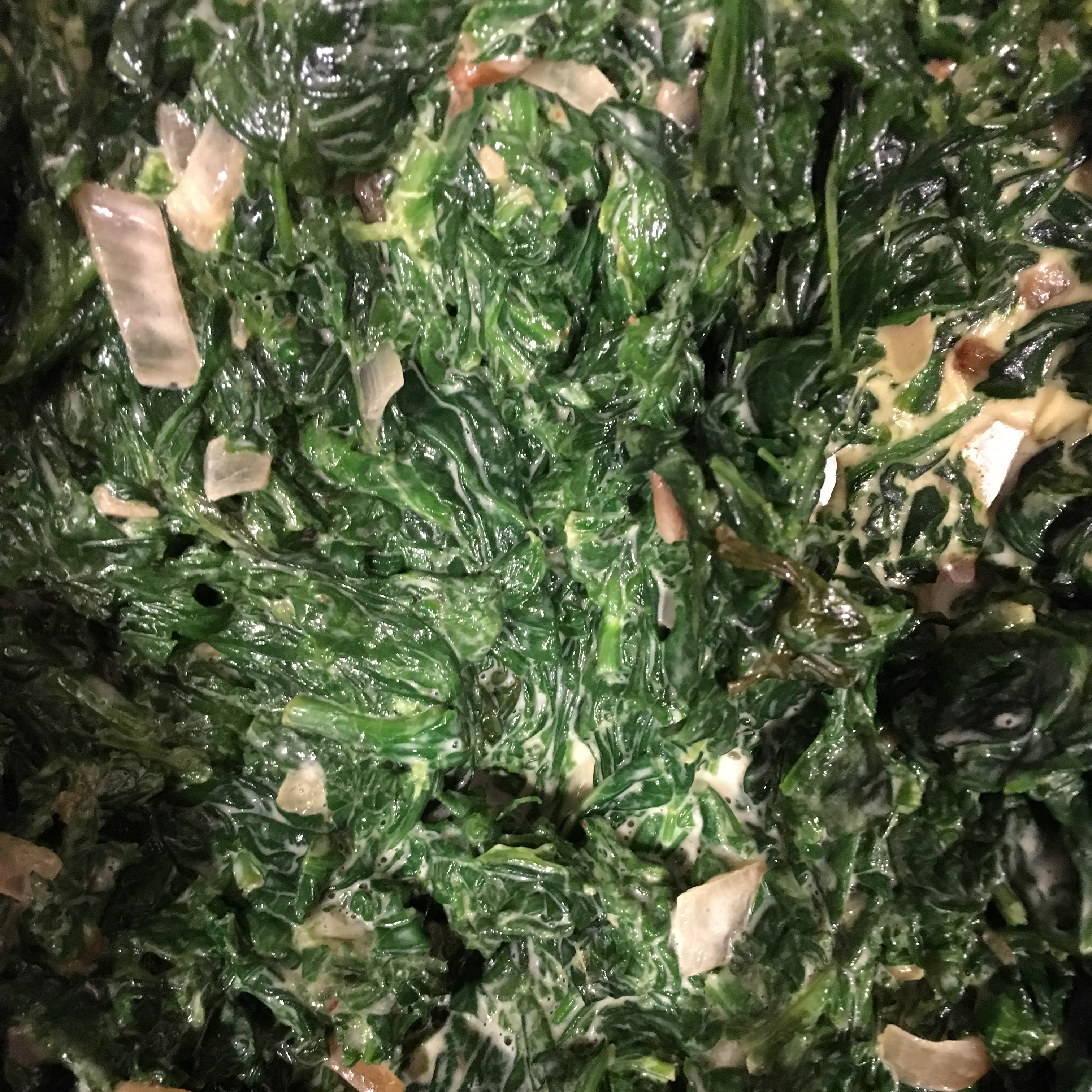 Fast and Easy Creamed Spinach Wendy Wilensky