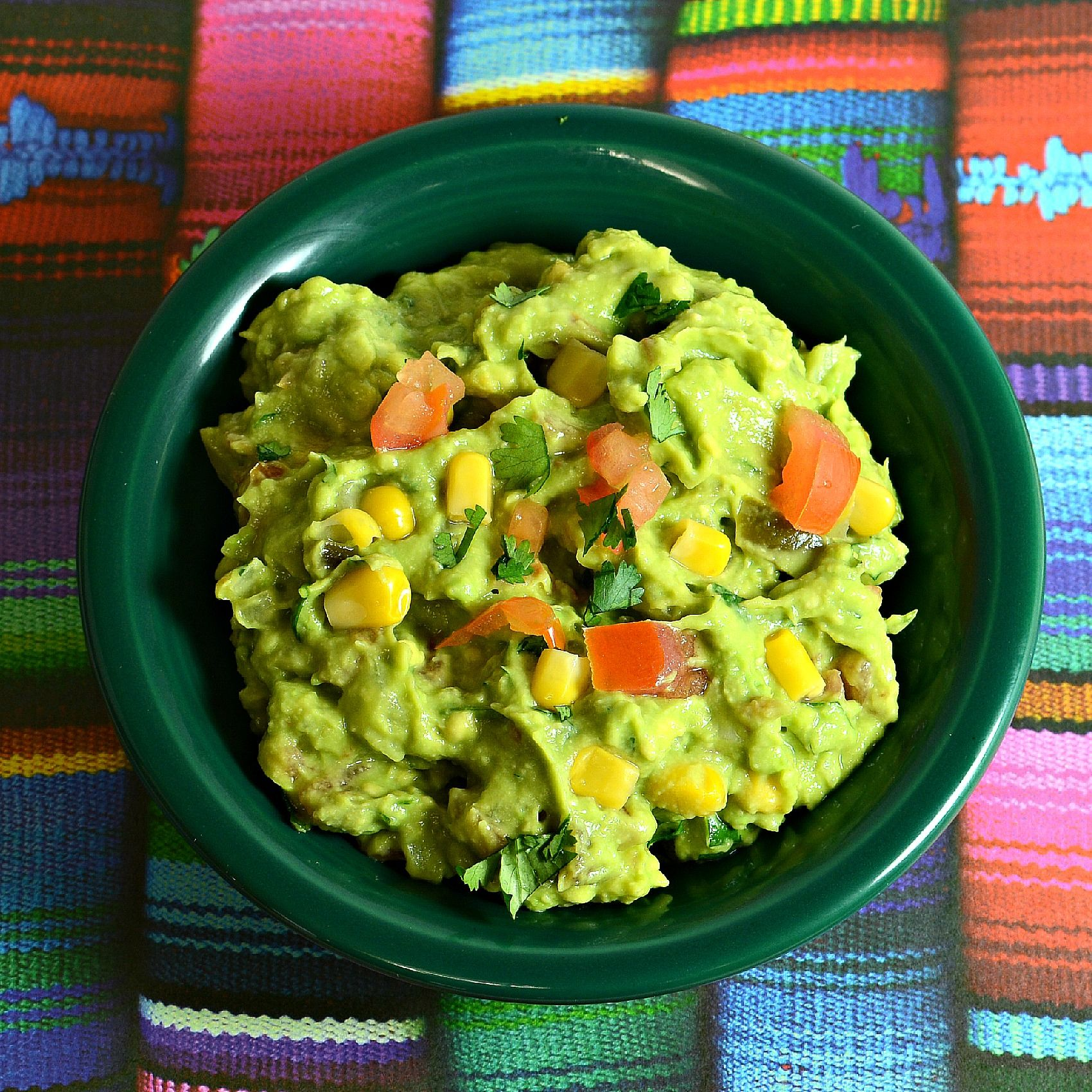 Guacamole with Corn