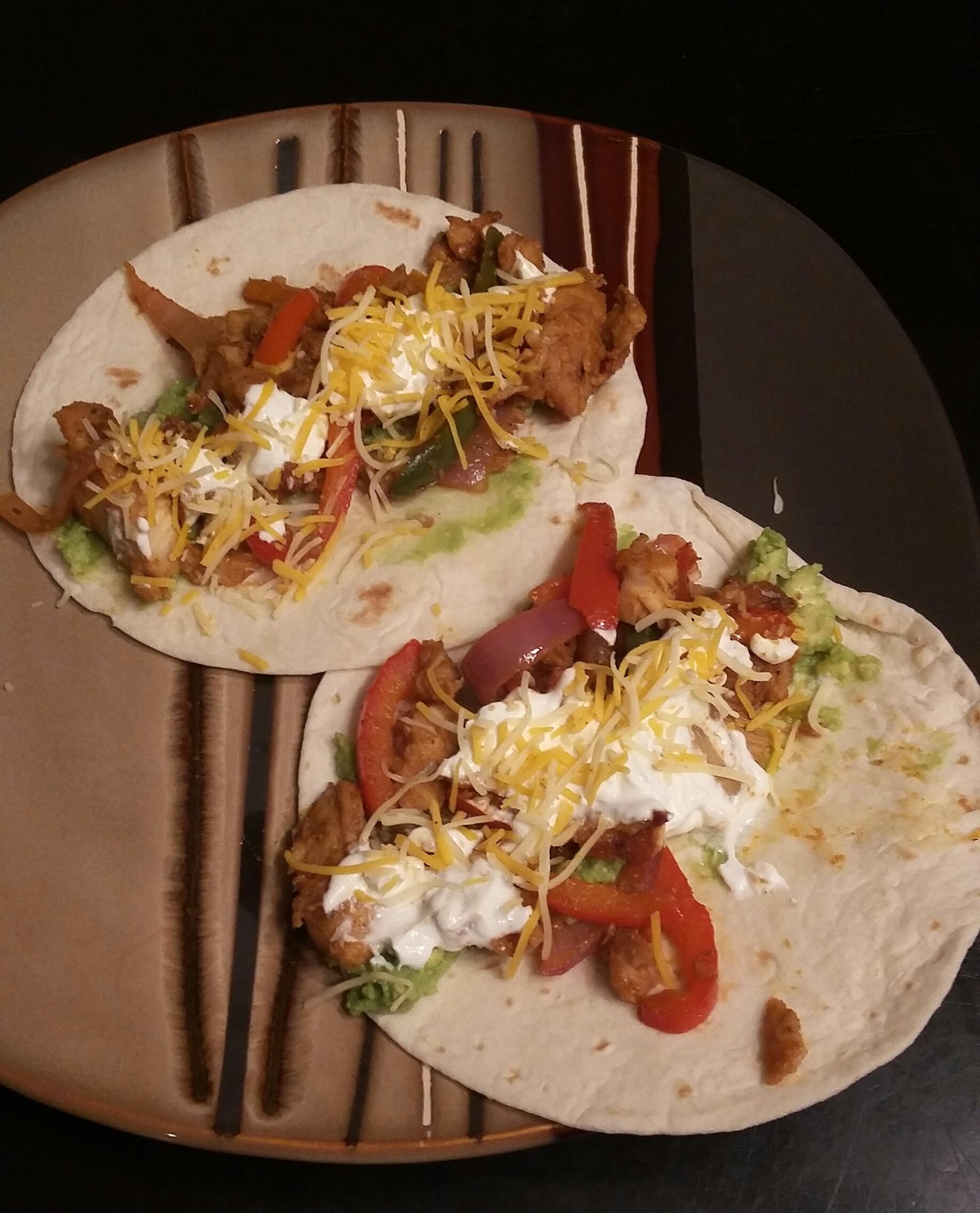 Skinny  Chicken Tacos Kathy O'lear