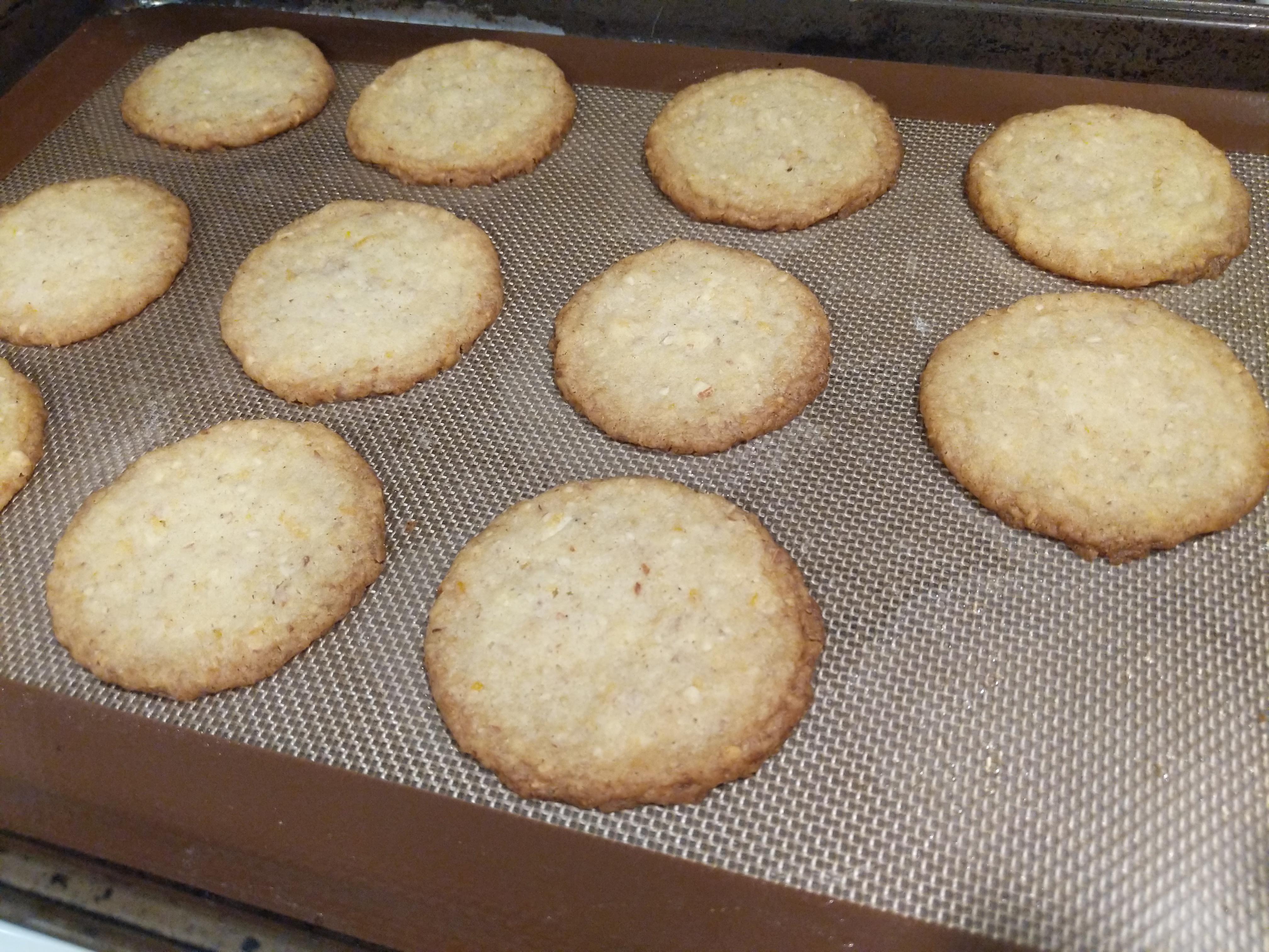Glazed Orange Spice Cookies